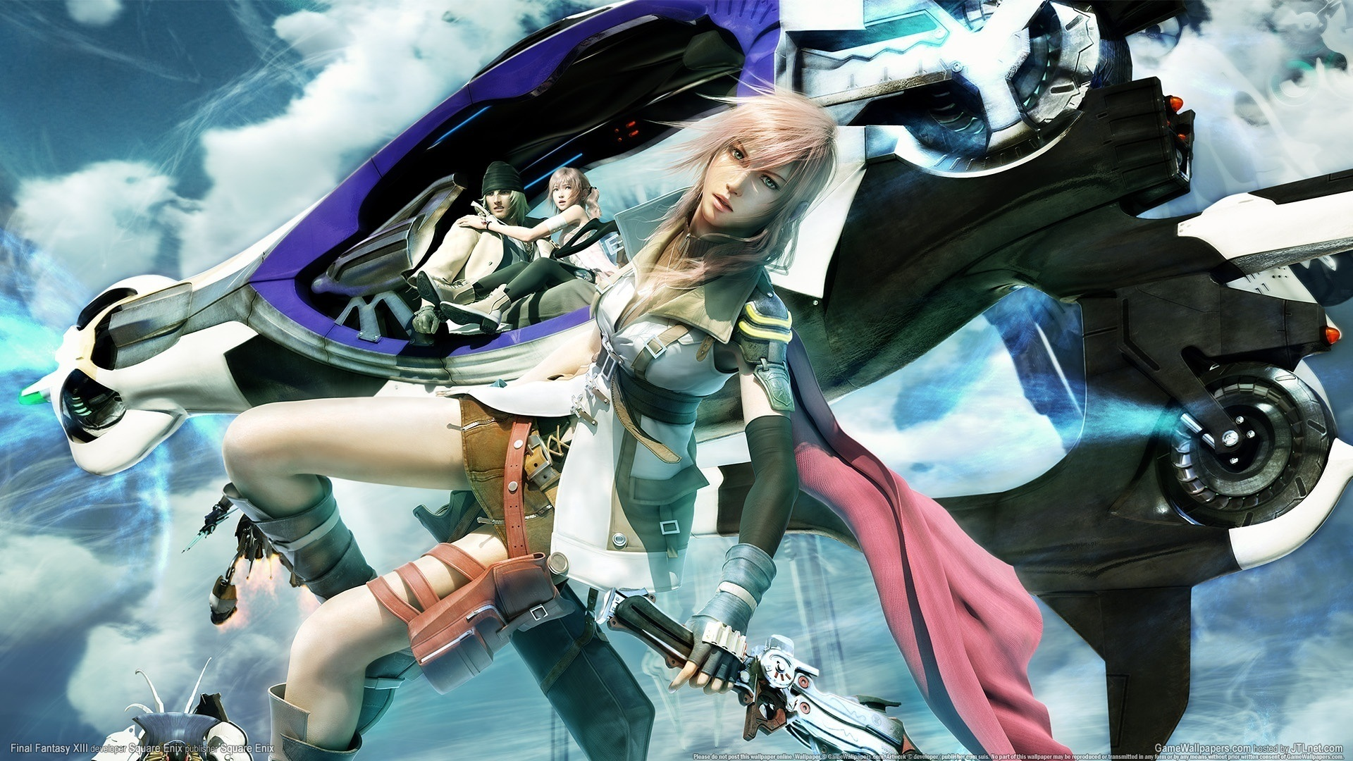 Final Fantasy 13 Iphone Wallpaper Celeb Wallpapers Wallpapers