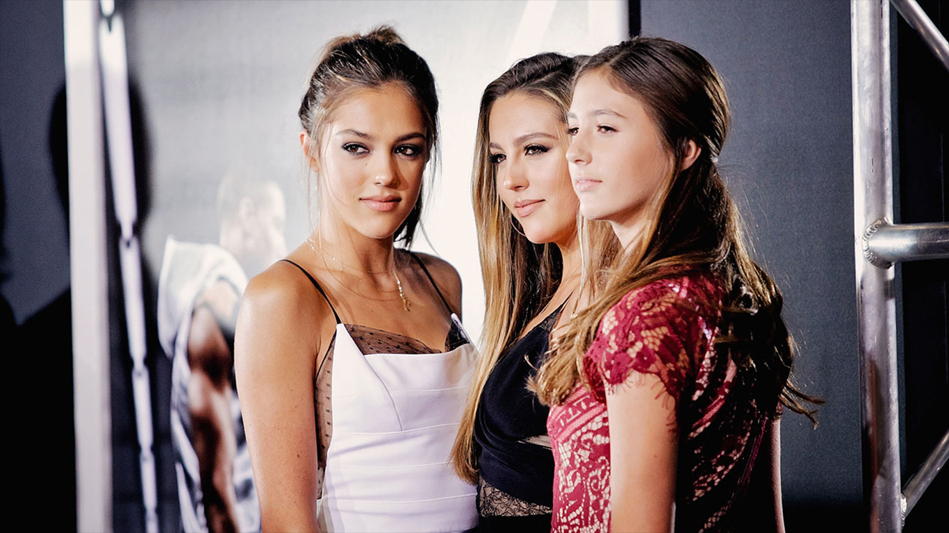 Sylvester Stallone Daughters « Celeb Wallpapers ...